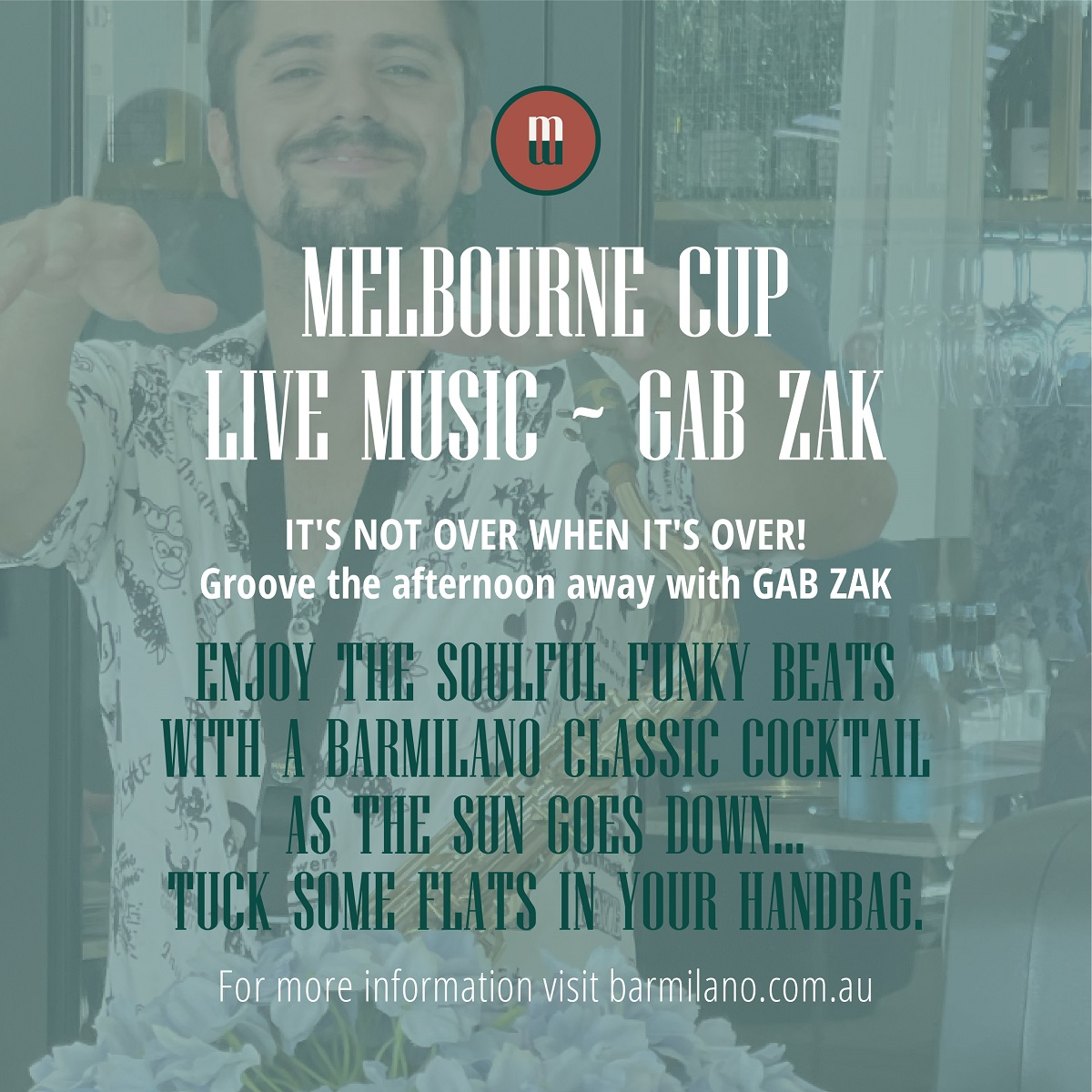 Celebrate Melbourne cup at barmilano